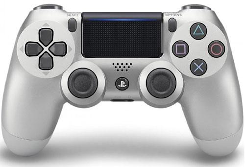 Sony Playstation 4 Dualshock 4 Controller Silver