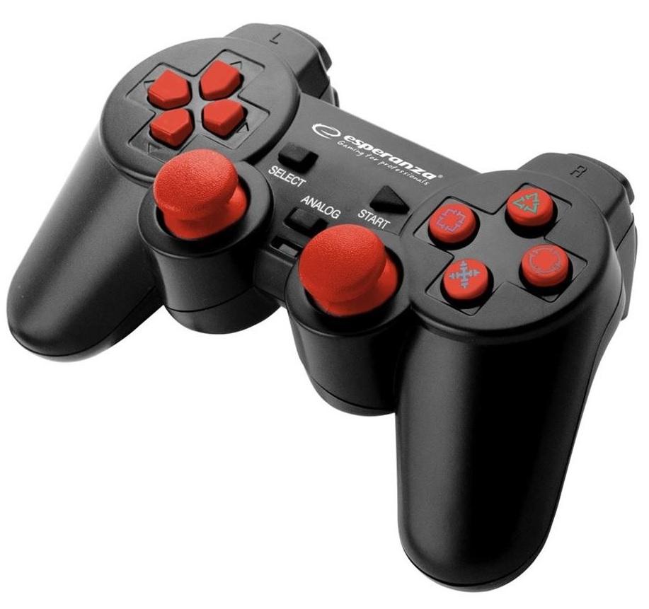 Esperanza GX500 Corsair vezetékes (PS2/PS3/PC) Gamepad