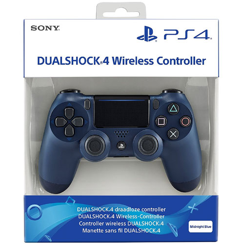 Sony Playstation 4 Dualshock 4 Controller V2 Midnight Blue