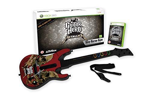 Guitar Hero Metallica Bundle (Gitár+Játék)