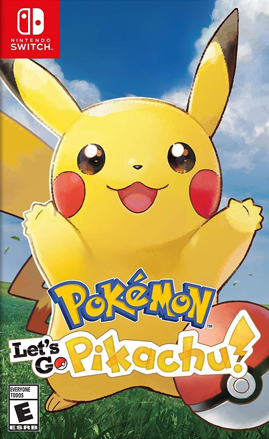 Pokémon: Lets Go Pikachu