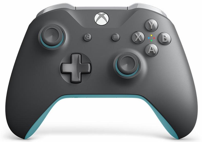 Microsoft Xbox One Wireless Controller Grey / Blue