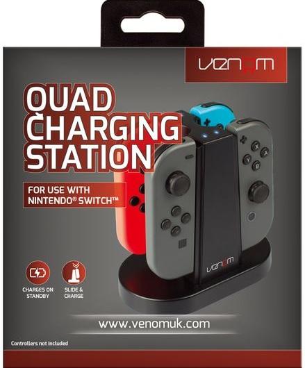Venom Nintendo Switch Quad Joy-Con kontroller töltőállomás (VS4796)