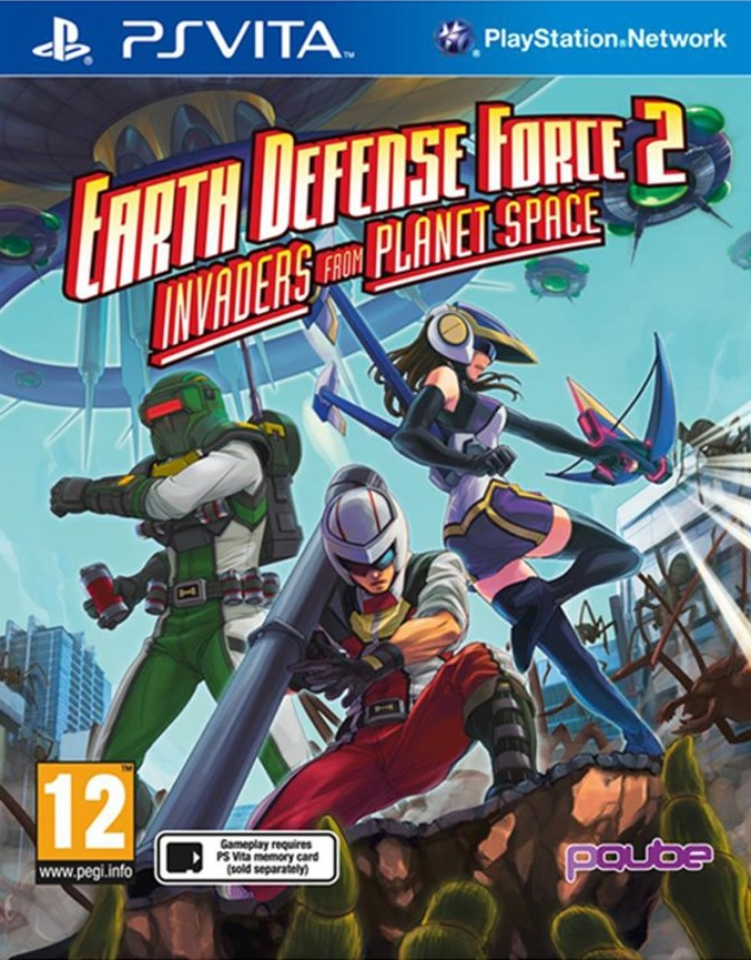 Earth Defense Force 2: Invaders From Planet Space