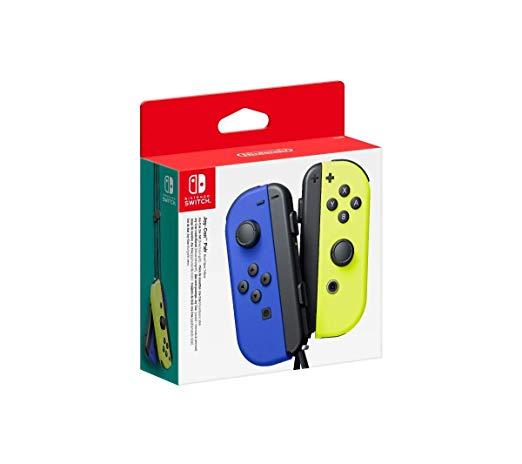 Nintendo Switch Joy-Con Pair Blue/Neon Yellow (NSP065)