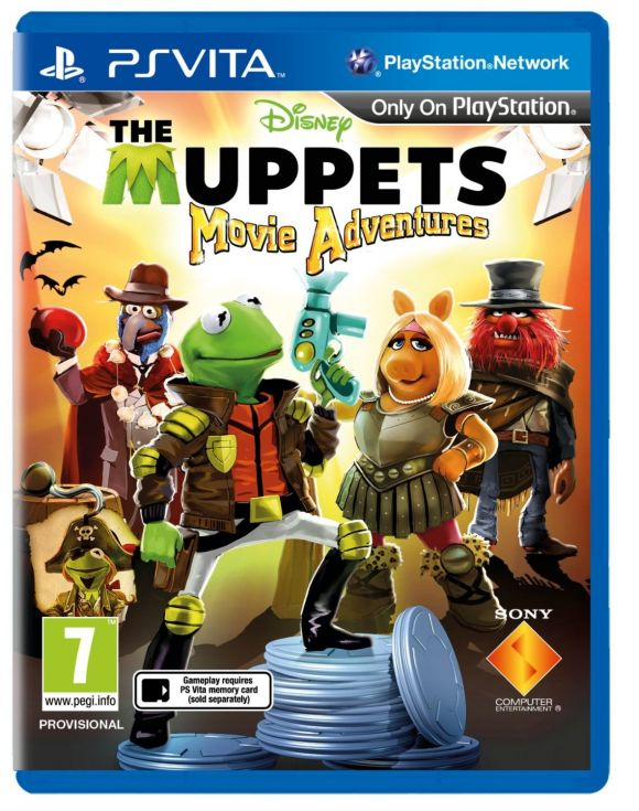 Disney The Muppets Movie Adventures