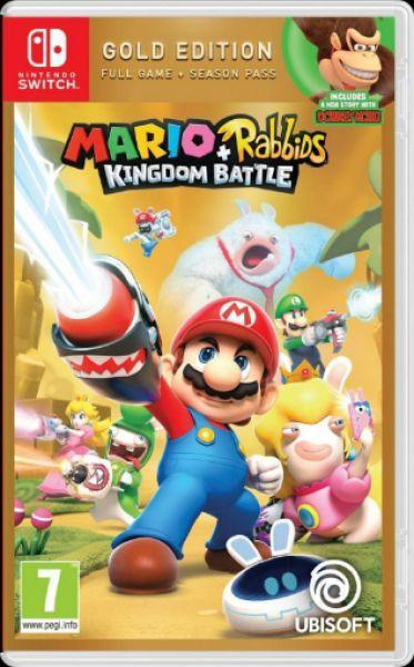 Mario+Rabbids Kingdom Battle Gold Edition (full game+season pass)