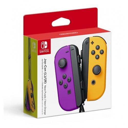 Nintendo Switch Joy-Con Pair Neon Purple/Orange (NSP078)