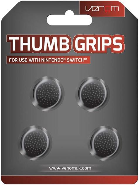 VENOM Thumb Grips Fekete Nintendo Switch (VS4916)
