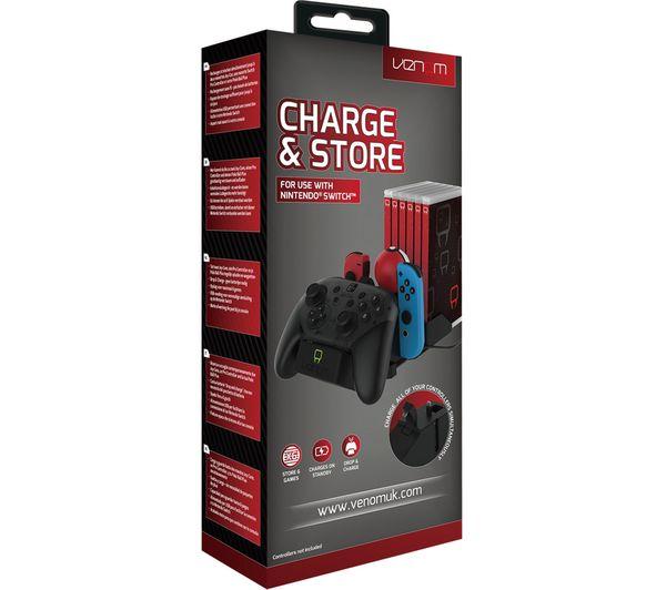 VENOM VS4900 Nintendo Switch Charge And Store ( all in one töltőállomás )