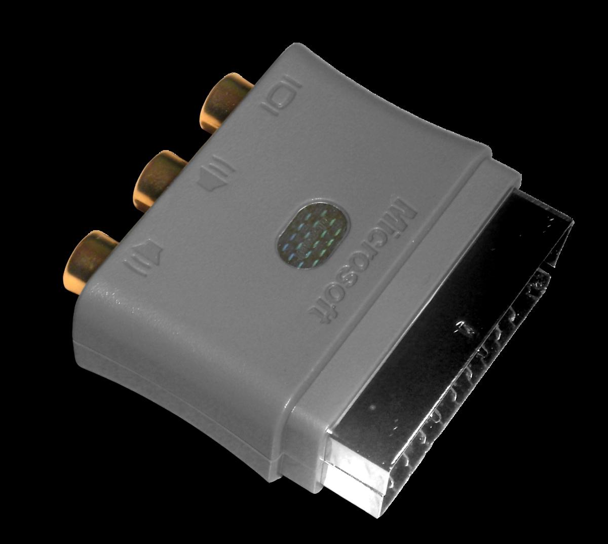 Microsoft Xbox 360 Scart Adapter