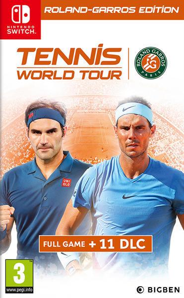 Tennis Wourld Tour Roland Garros Edition
