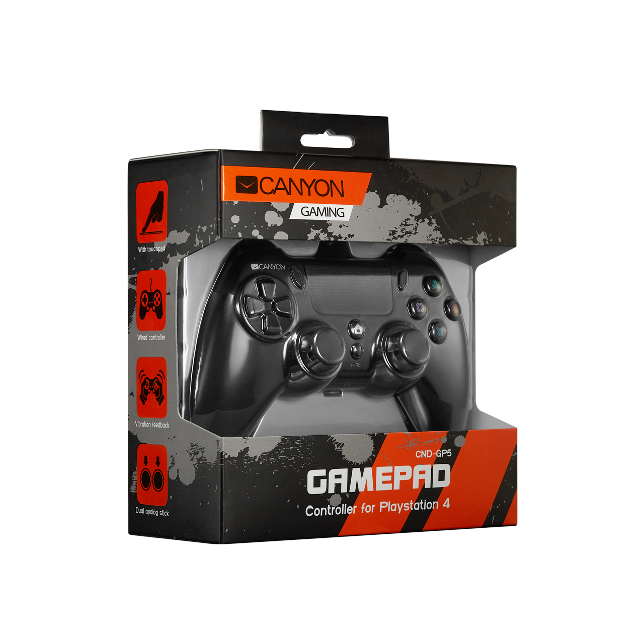 Canyon CND GP5 Wired Controller ( vezetékes ) PS4