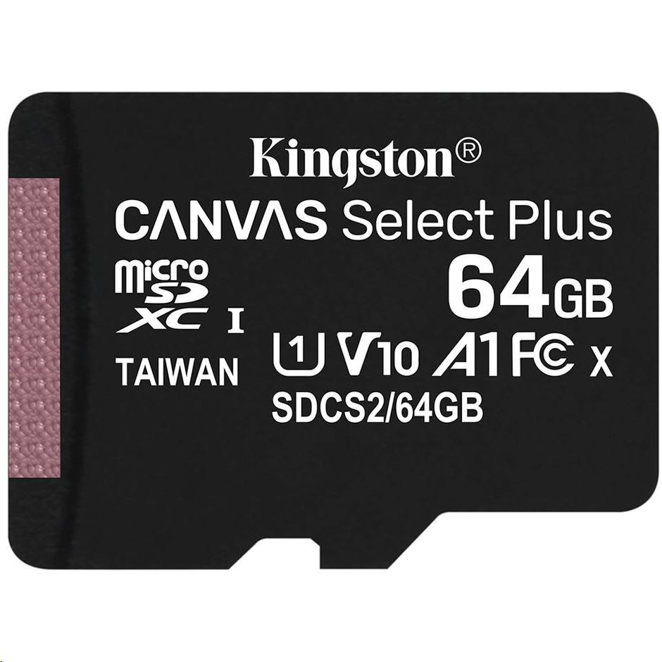 Kingston Canvas Select Plus 64GB microSDXC CL10