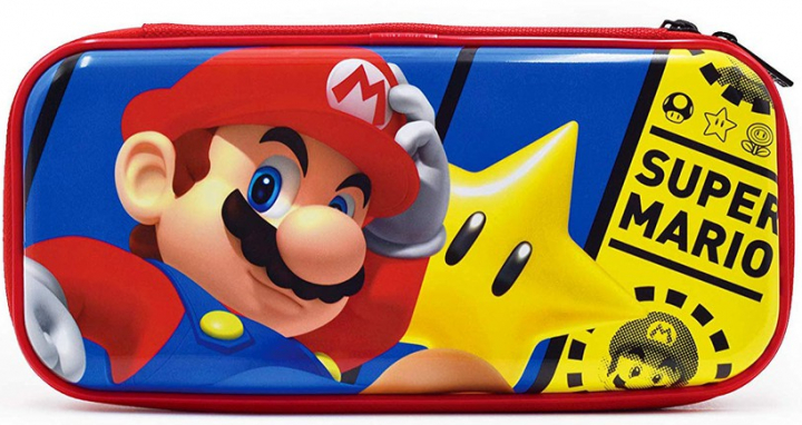 Nintendo Switch Hori Premium Case Super Mario Kemény Tok