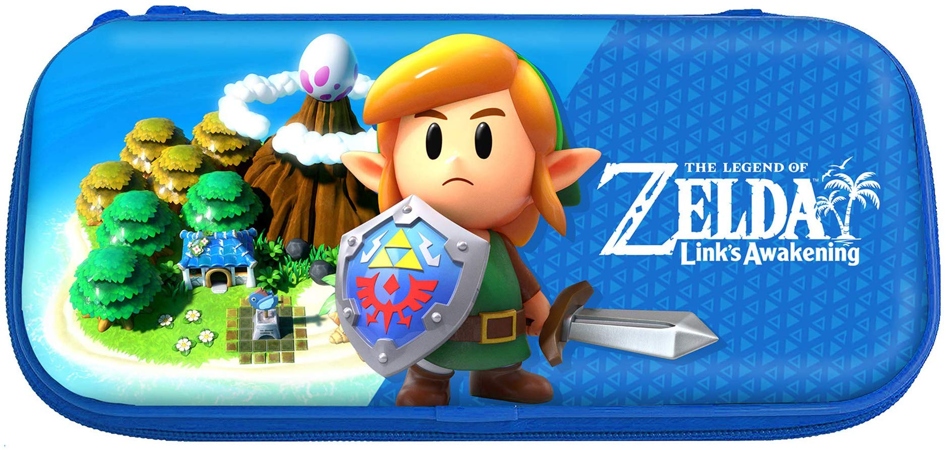 Nintendo Switch Hori Premium Case Zelda Links Awakening Kemény Tok