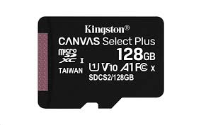 Kingston Canvas Select Plus 128GB microSDXC CL10