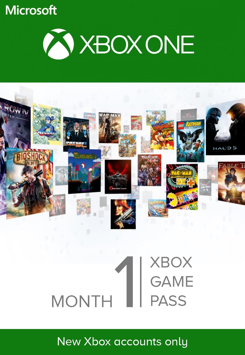 Microsoft Xbox Game Pass 1 hónapos előfizetés (DIGITÁLIS KÓD)