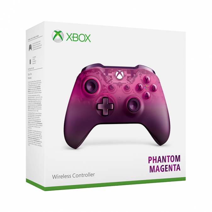Microsoft Xbox One Wireless Controller Phantom Magenta