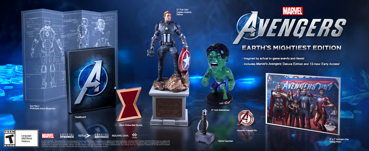 Marvel Avengers Earths Mightiest Edition