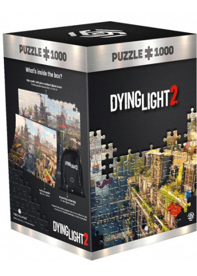GLO Dying Light 2 City 1000 DB Puzzle ( kirakó )