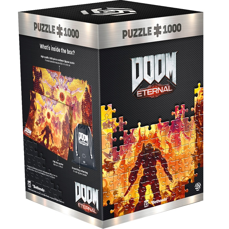 GLO Doom Eternal Mykir 1000 DB Puzzle ( kirakó )