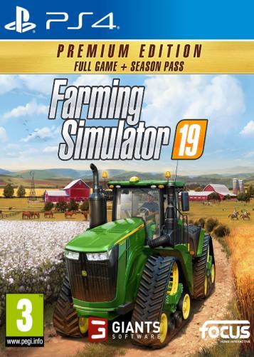 Farming Simulator 19 Premium Edition (PS4)