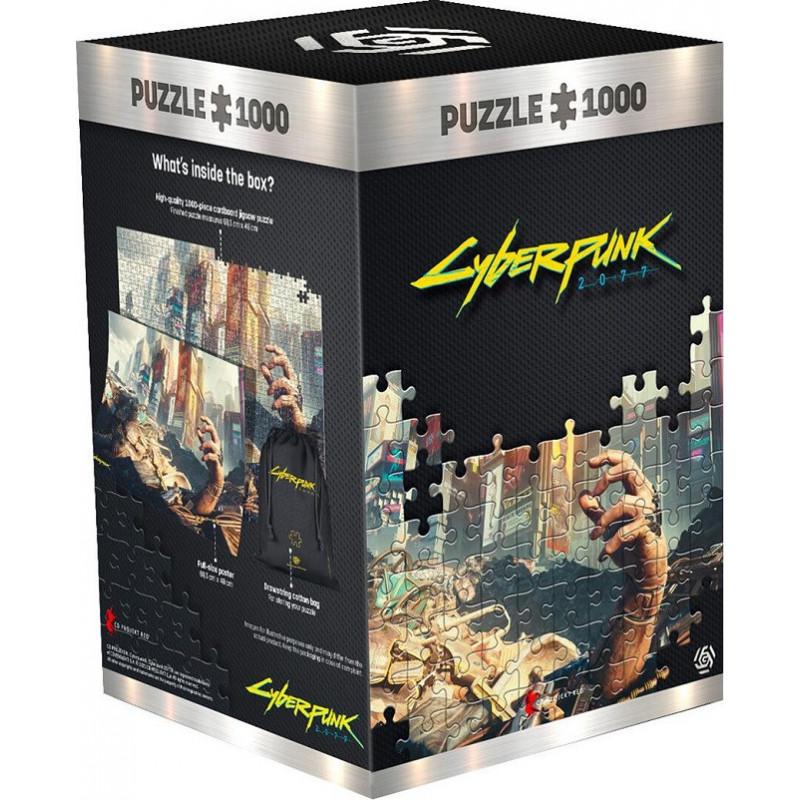 GLO Cyberpunk 2077 HAND 1000 DB Puzzle ( kirakó )