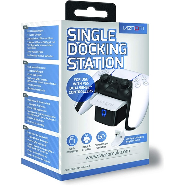 Sony PS5 fehér töltőállomás ( Single Docking Station ) VS5000