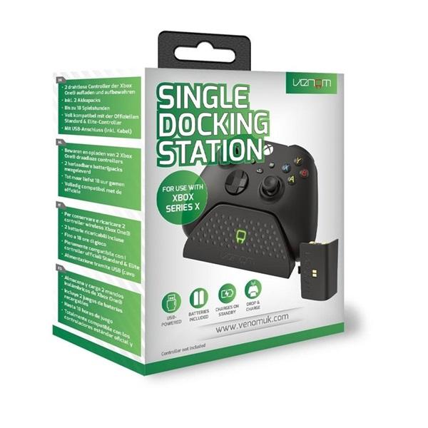 Venom VS2880 Xbox Series fekete töltőállomás + 1 db akkumulátor