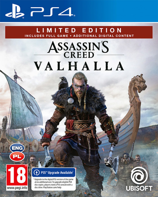 Assassins Creed Valhalla Limited Edition