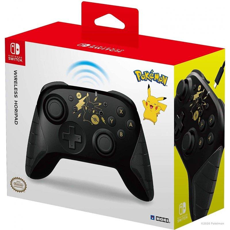 HORI Nintendo Switch Wireless Controller Pikachu Black Gold Edition