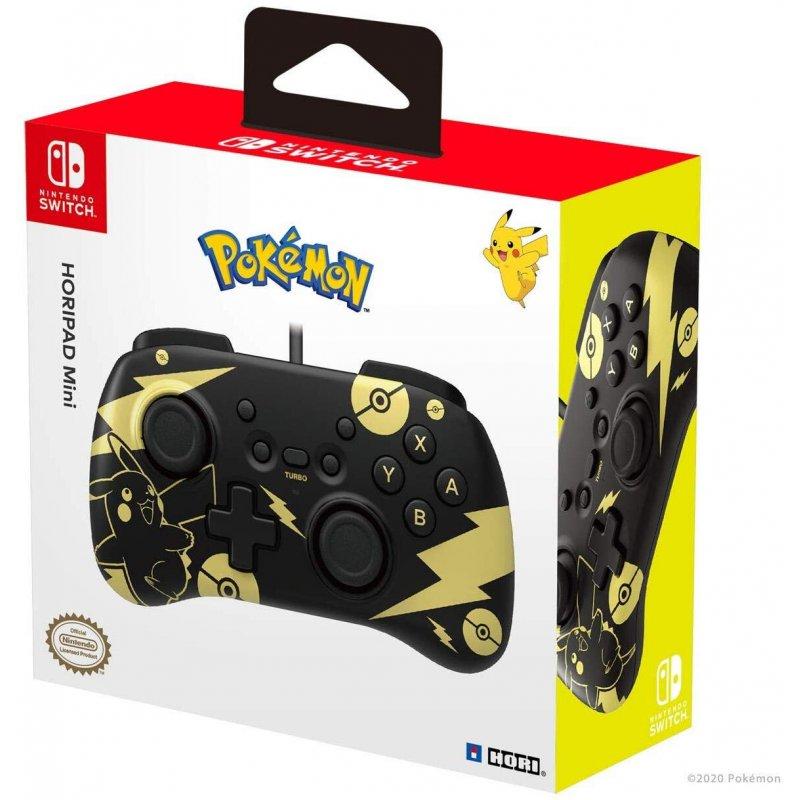 Hori Nintendo Switch HORIPAD Mini Pikachu Black Gold Edition ( Vezetékes )