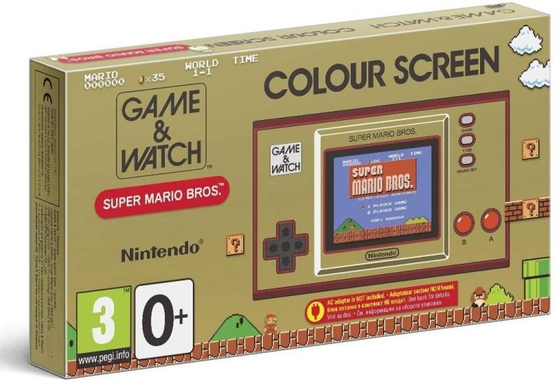 Nintendo Game & Watch: Super Mario Bros. retro játékkonzol