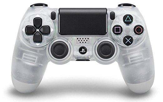 Sony Playstation 4 Dualshock 4 Controller V2 Crystal