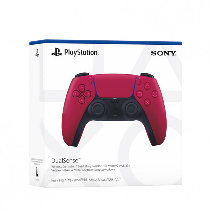 PlayStation®5 (PS5) DualSense™ kontroller (Cosmic Red)