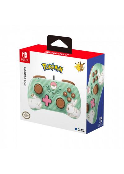 Hori Nintendo Switch HORIPAD Mini Pikachu Eevee Edition ( Vezetékes )