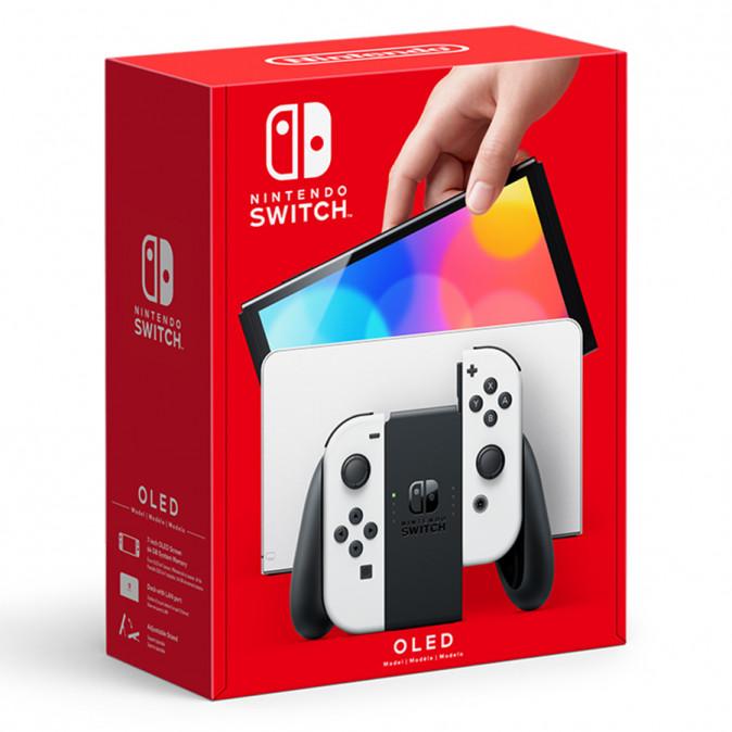 Nintendo Switch (OLED-Model) Fehér ( White )