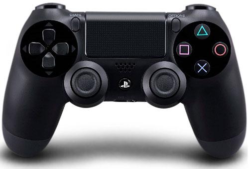 Sony Playstation 4 Dualshock 4 Controller V2 Jet Black (OEM)