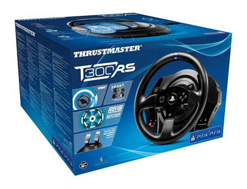 Thrustmaster T300 RS Force Feedback PC PS3 PS4 kormány (4160604)