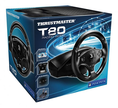 Thrustmaster T80 PC PS4 PS3 kormány