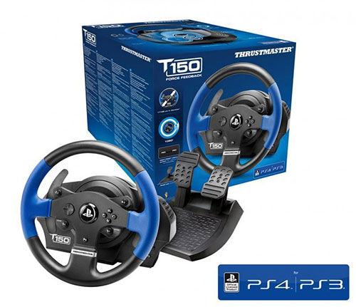 Thrustmaster T150 Force Feedback Kormány PS4,PS3,PC (4160628)