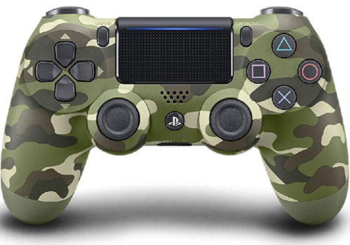 Sony Playstation 4 Dualshock 4 Green Camouflage Controller