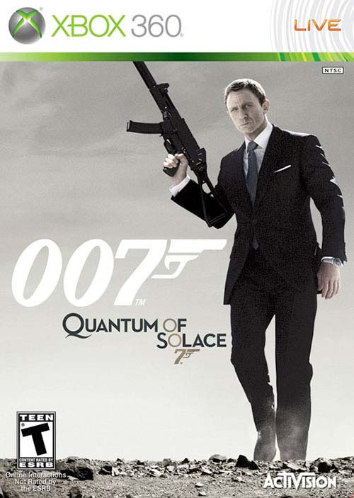 James Bond Quantum Of Solace 007